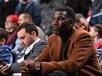 Vice President of Operations, Michael Finley of the Dallas Mavericks attends a game between the Dallas Mavericks and the Philadelphia 76ers on December 20, 2019 at the Wells Fargo Center in Philadelphia, Pennsylvania