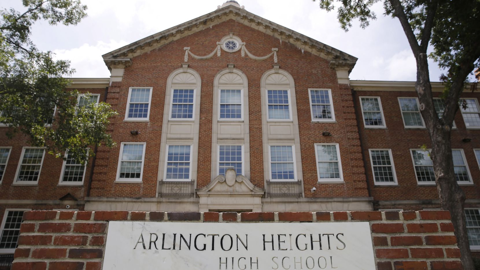 Arlington Heights High School in Fort Worth.
