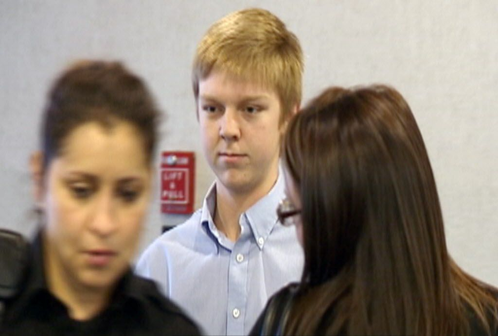 """Ethan Couch arrives for a December 2013 hearing in Fort Worth. A judge, citing """"affluenza,"""" sentenced Couch to probation in a July 2013 drunken driving crash that killed four people."""