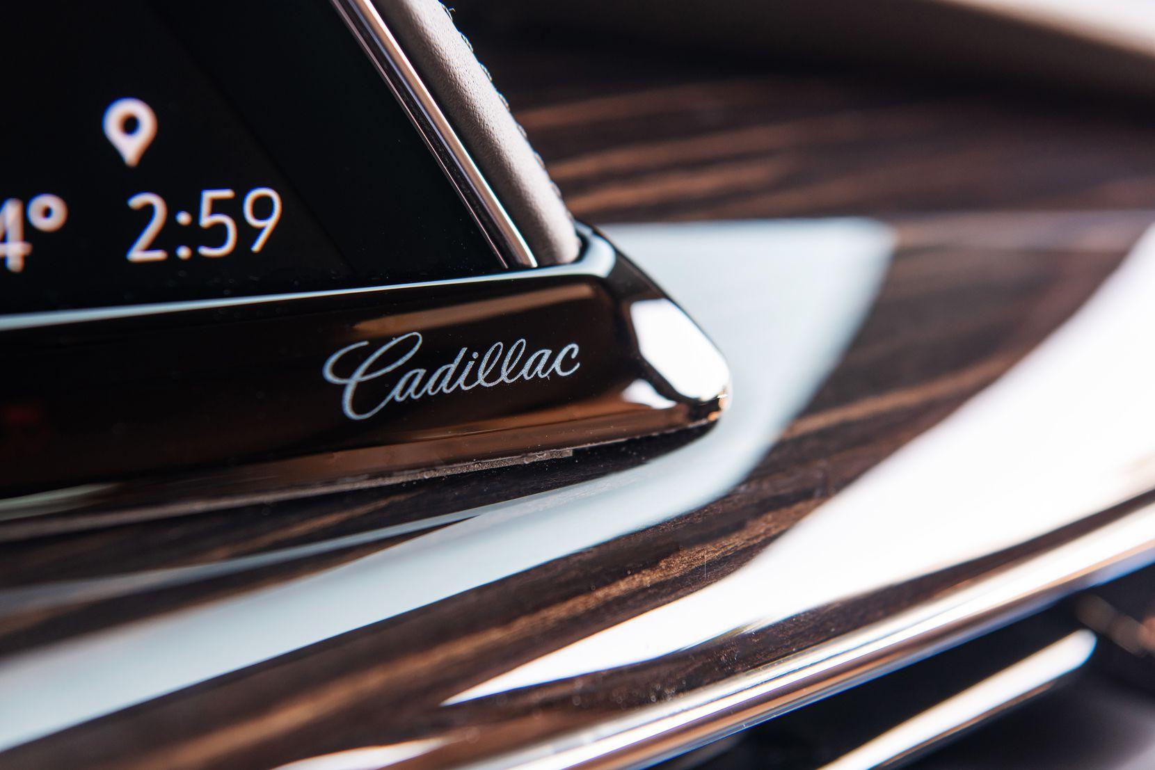 Interior accents in the 2021 Cadillac Escalade.