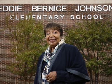 U.S. Rep. Eddie Bernice Johnson, 85, is the first registered nurse to be elected to Congress and the first Black American woman ever elected to public office from Dallas.