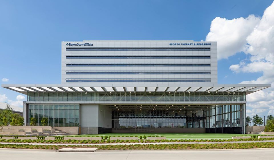 One of MEDCO's recent projects includes the Baylor Scott & White hospital at the Star in Frisco.