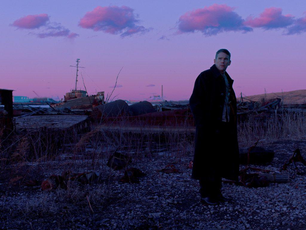 "Ethan Hawke in ""First Reformed."""