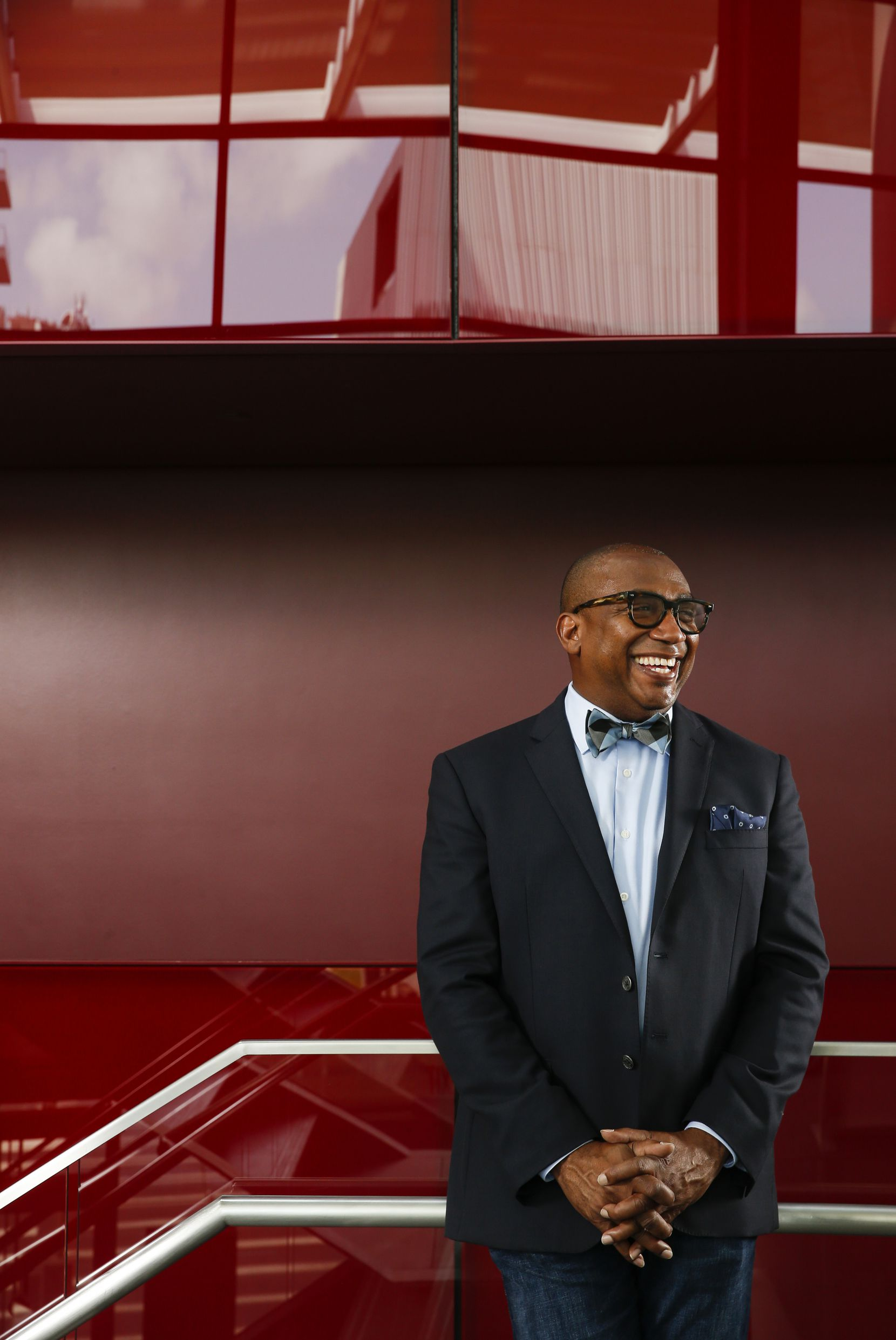 Terry D. Loftis, president of The Arts Community Alliance, poses for a photograph Wednesday, July 8, 2020 at Winspear Opera House in Dallas.