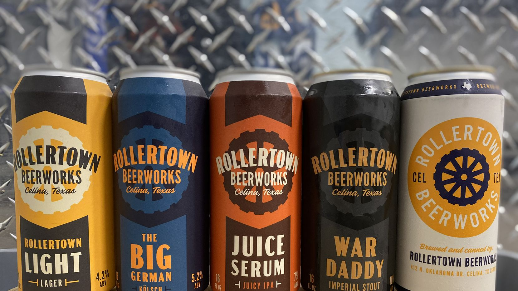 """Ben Rogers and Jeff """"Skin"""" Wade are the co-owners of Rollertown Beerworks in Celina."""