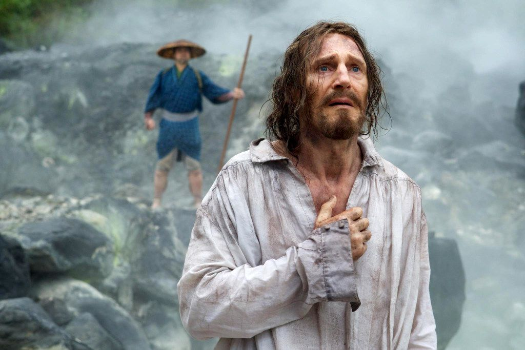 """Liam Neeson in """"Silence."""" Kerry Brown, Paramount Pictures"""