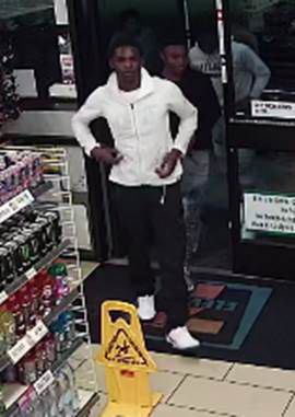 One of the suspects believed to be involved in a series of robberies in Mesquite