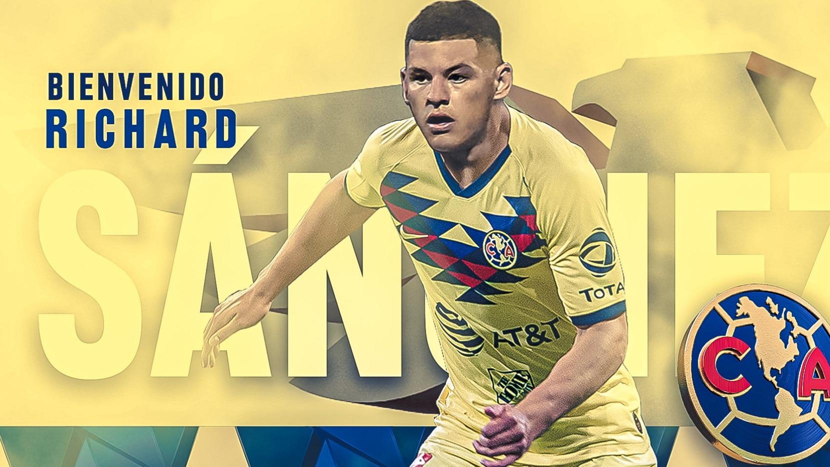 De 23 años, Richard Sánchez, nuevo jugador del América, es seleccionado de Paraguay desde 2018.