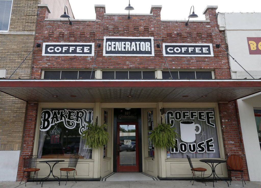 The Generator coffee house in downtown Garland. (Jae S. Lee/The Dallas Morning News)