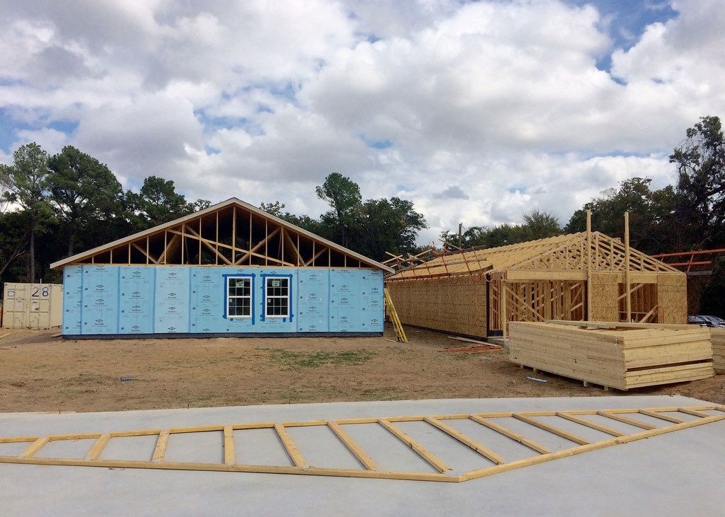Dallas Area Habitat for Humanity is building several new homes in the Joppa neighborhood in southern Dallas.