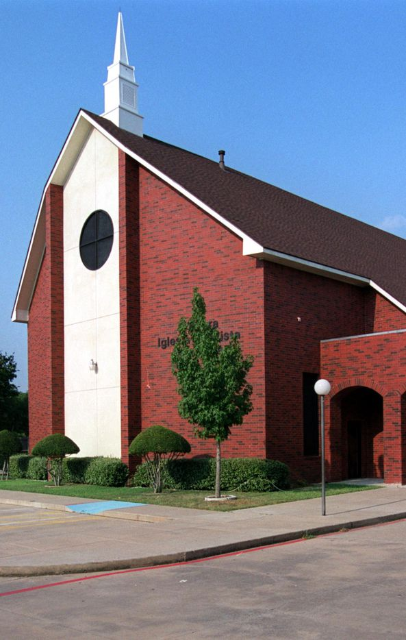 A 2003 photo of Primera Iglesia Bautista Mexicana, located at 10010 Betty Jane Lane in Dallas. It was completely leveled by a tornado on Oct. 20, 2019.