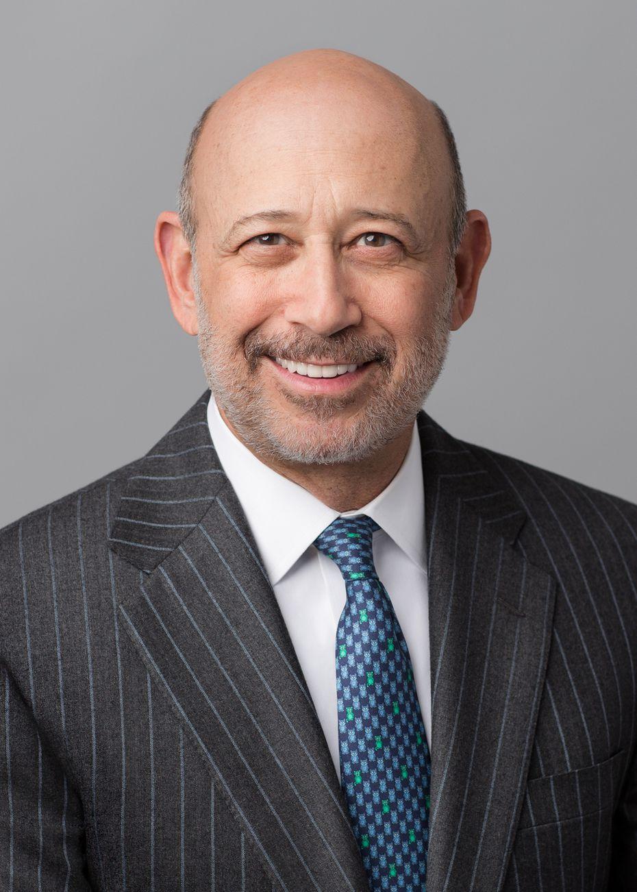 Goldman Sachs CEO Lloyd Blankfein.