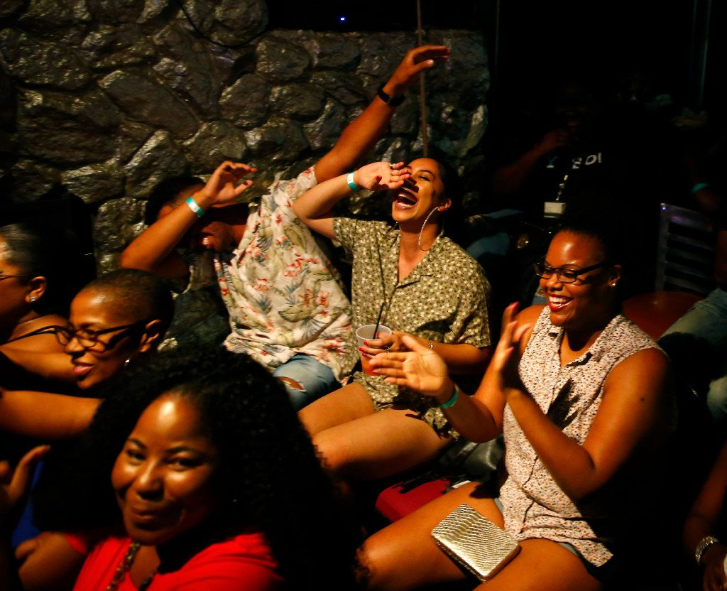 Sold-out crowds are common at the Dallas Poetry Slam's Heroes Lounge shows, where judges are randomly selected from the audience to score the night's performances.