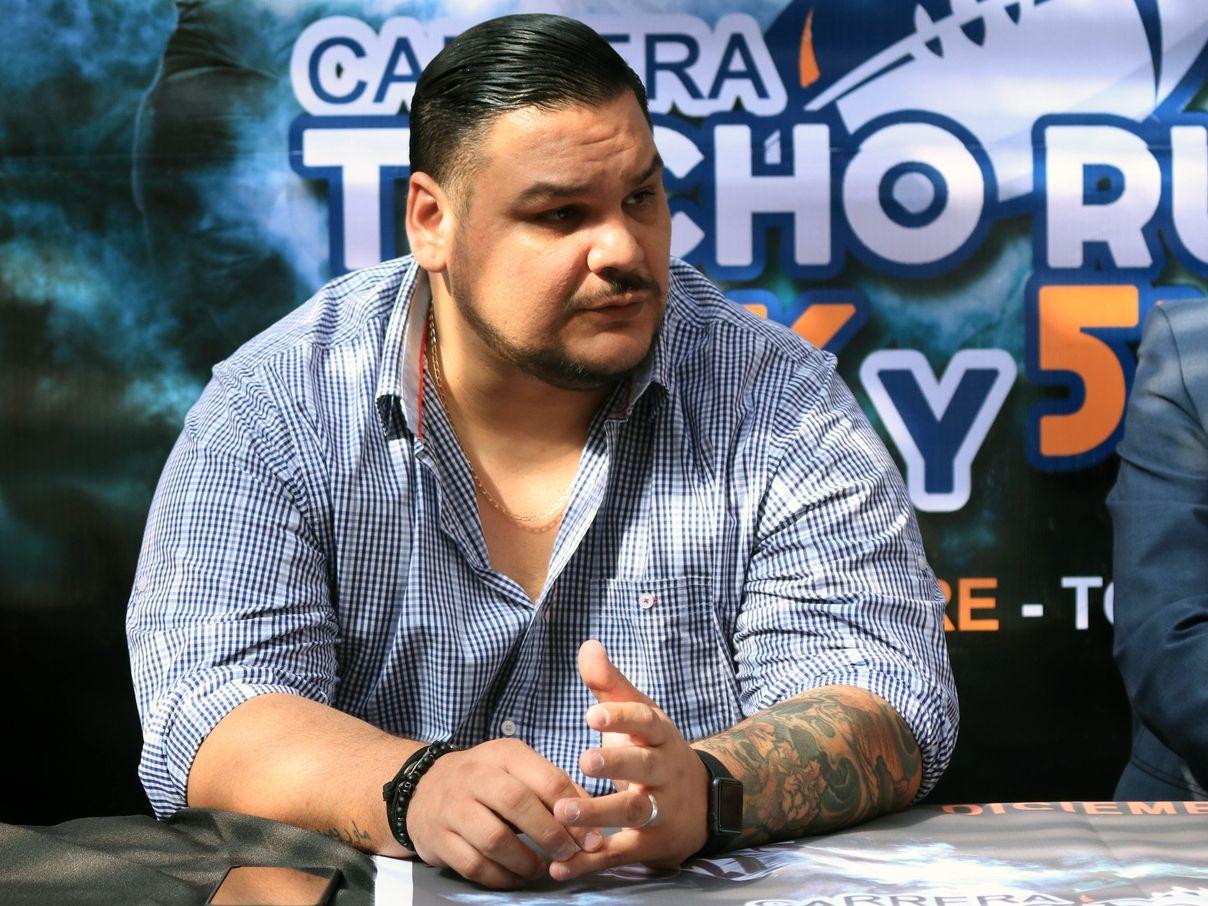 """Mauricio """"Tyson"""" López jugó en la NFL y en la actualidades analista de ESPN Deportes."""