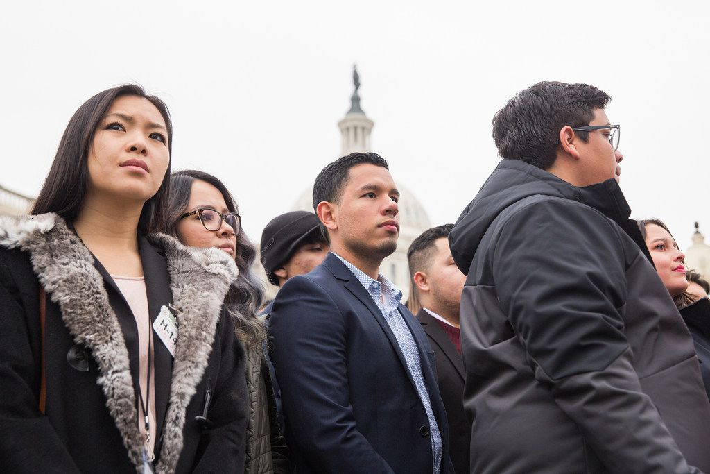 An estimated 1.3 million undocumented immigrants are eligible for DACA, including over 226,000 in Texas, but the state attorney general is suing to end the program.