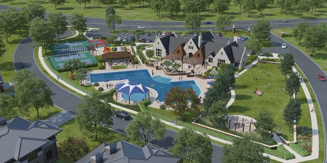 The first phase of Cambridge Crossing includes a clubhouse and more than 300 homes.