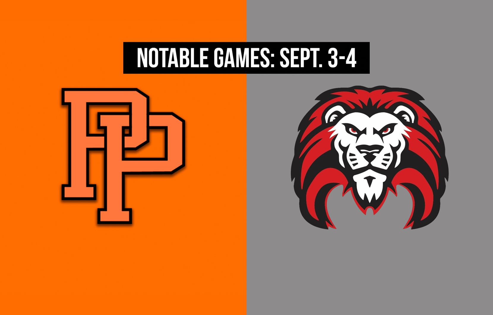 Notable games for the week of Sept. 3-4 of the 2020 season: Pilot Point vs. Fort Worth Castleberry.
