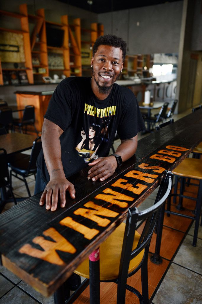 De'Andre Jackson owns Winners BBQ in Plano, Cedar Hill and Austin.