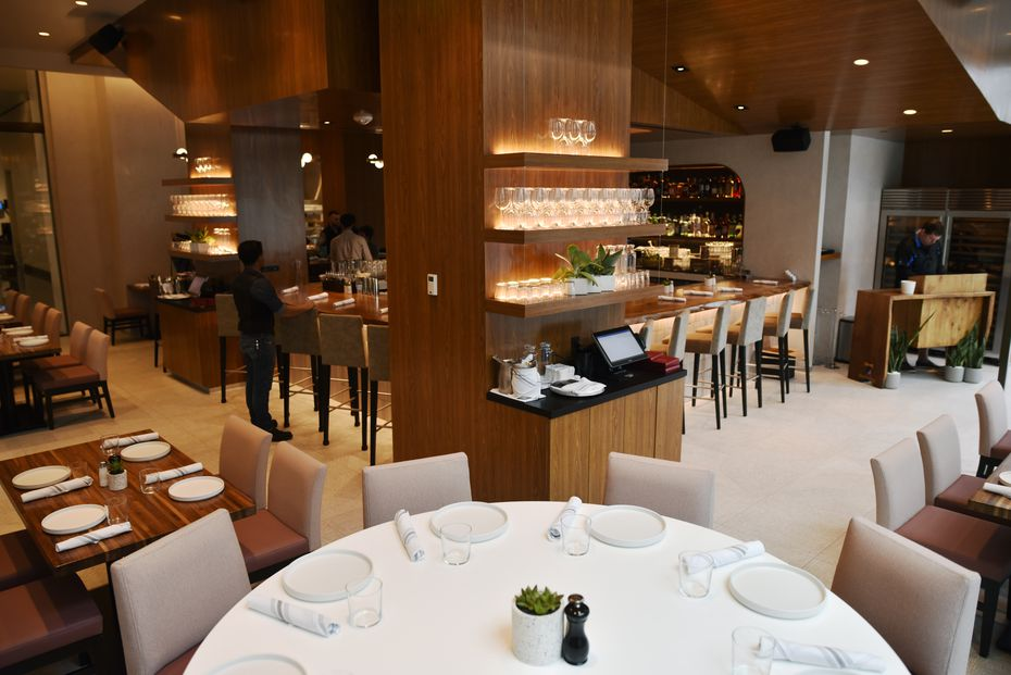 """""""We call this a hotel restaurant. And it's 100 percent occupied Monday through Friday,"""" says Tim McEneny, founder and CEO of NL Group. The restaurant isn't technically attached to a hotel, but he explains that the breakfast-lunch-dinner flow should feel like a hotel restaurant."""