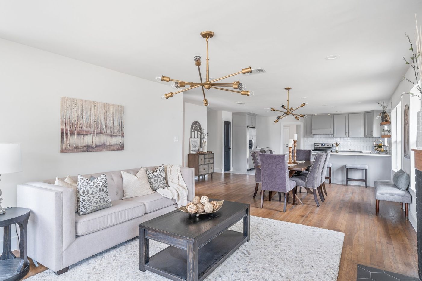 Take a look inside the home at 852 E. Texas St. in Grapevine, TX.