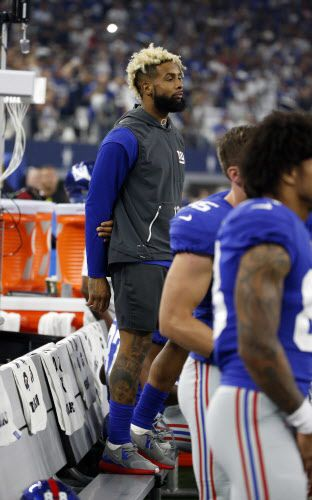 Odell Beckham. (AP Photo/Michael Ainsworth)