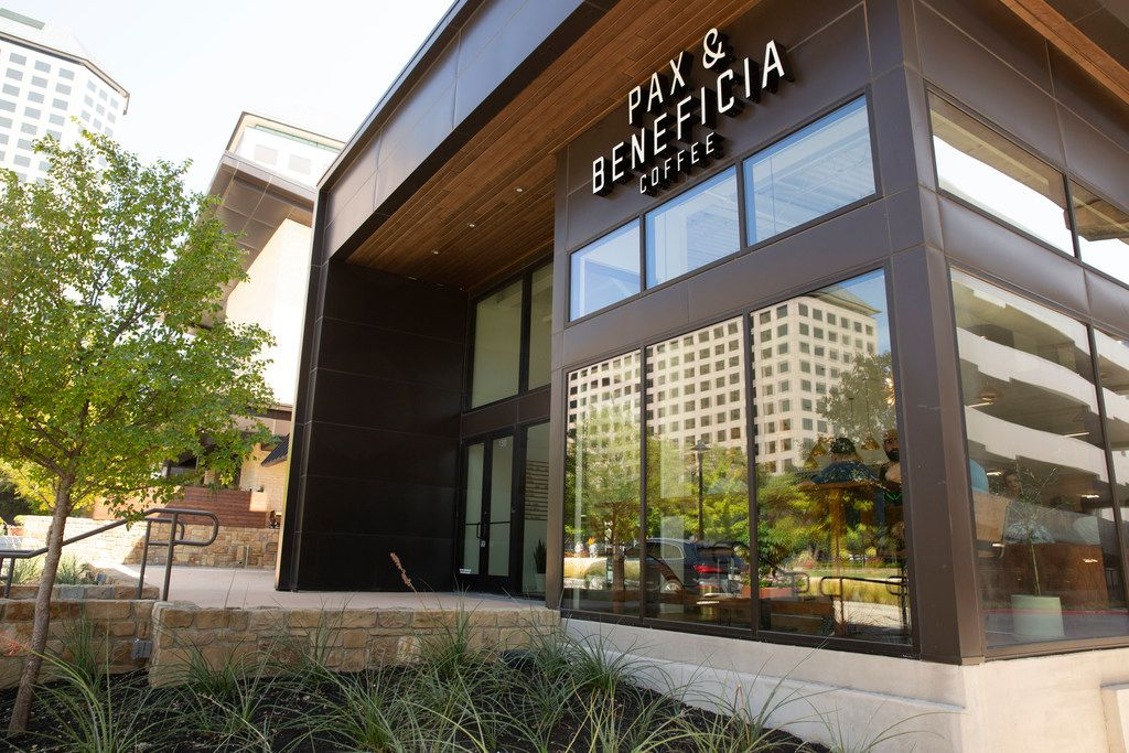 Pax & Beneficia is located off of O'Connor Boulevard in Irving/Las Colinas.