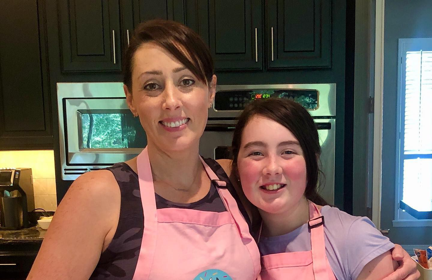 Millie and Olive Shaw, owners of MooCakes and Treats in Southlake, started their floral cupcake business last year.