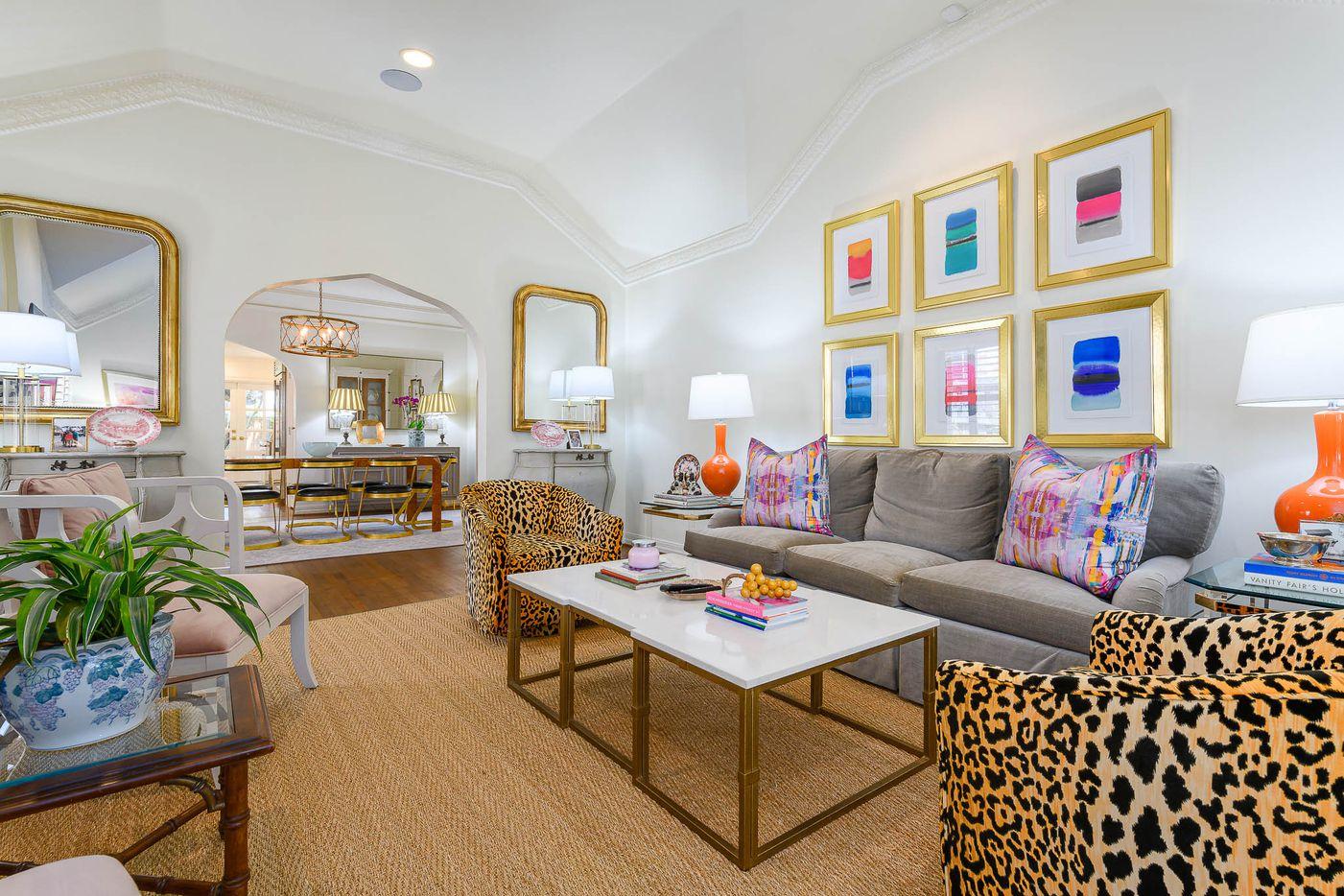 A look at the property at 4408 San Carlos Drive in Dallas.