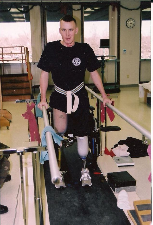 Despite his injuries, Owens told people he wanted to go back to Iraq.
