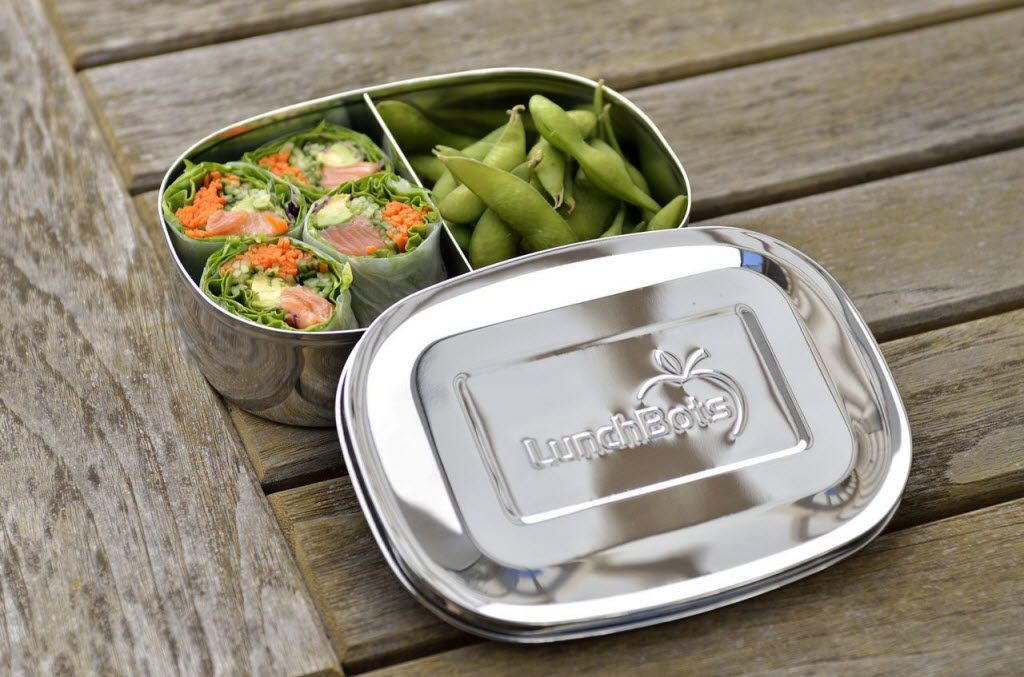 For a stainless steel options, try LunchBots