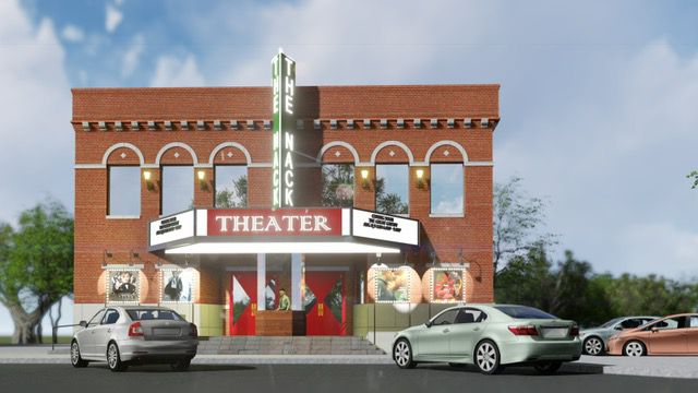 Nack Development's planned theater in downtown Frisco.