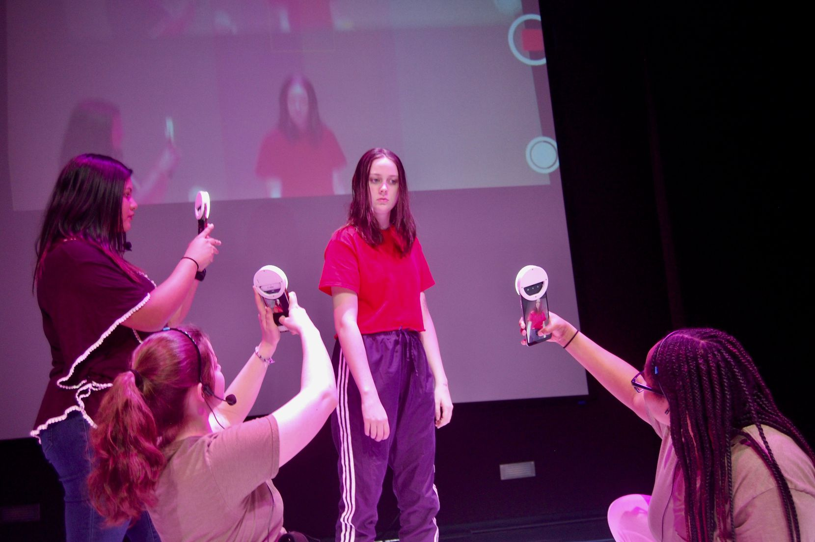 Cry Havoc Theater Co., which uses teen actors like Brooke Schlegel, had to cancel a trip to Seattle to research an upcoming show.
