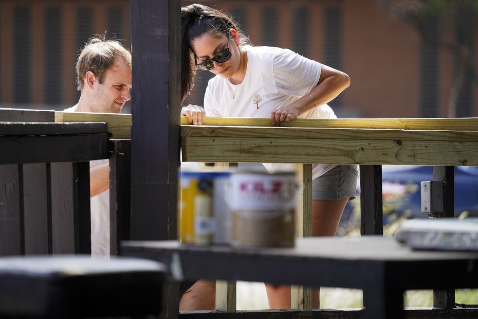 Jeff Karetnick and April Segovia plan to spend several months working on cosmetic changes to the restaurant space on Lowest Greenville before their Meyboom Brasserie can open.