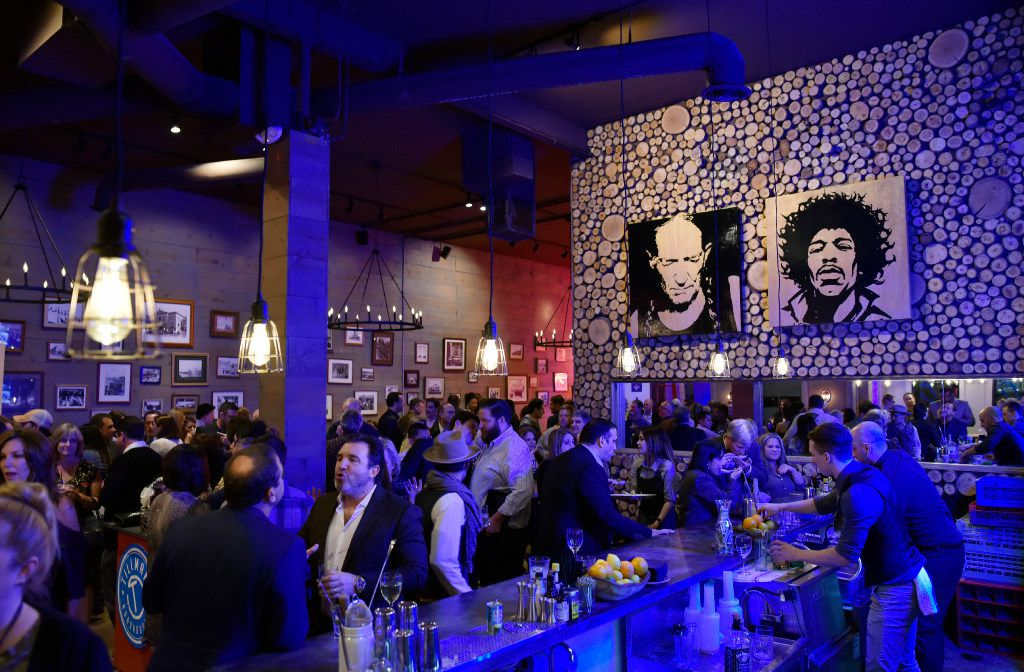 The dinning and bar area inside Tillman's Roadhourse during a relaunch party for the restaurant in Bishop Arts, on Tuesday, Jan. 10, 2017 in Dallas. Ben Torres/Special Contributor