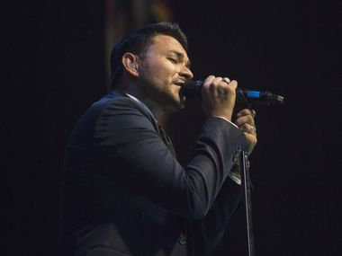 Frankie J performs at The House of Blues in Dallas in 2014. He's one of a handful of musicians headlining Centro Popular, a new Latin music festival.