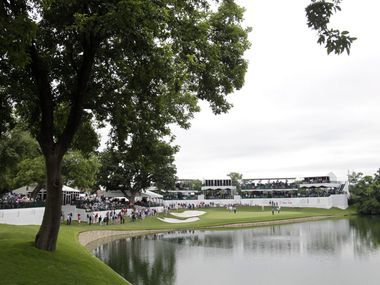 FILE - Pictured above is the 13th hole at the Crowne Plaza Invitational at Colonial Country Club in Fort Worth on Thursday, May 21, 2015.