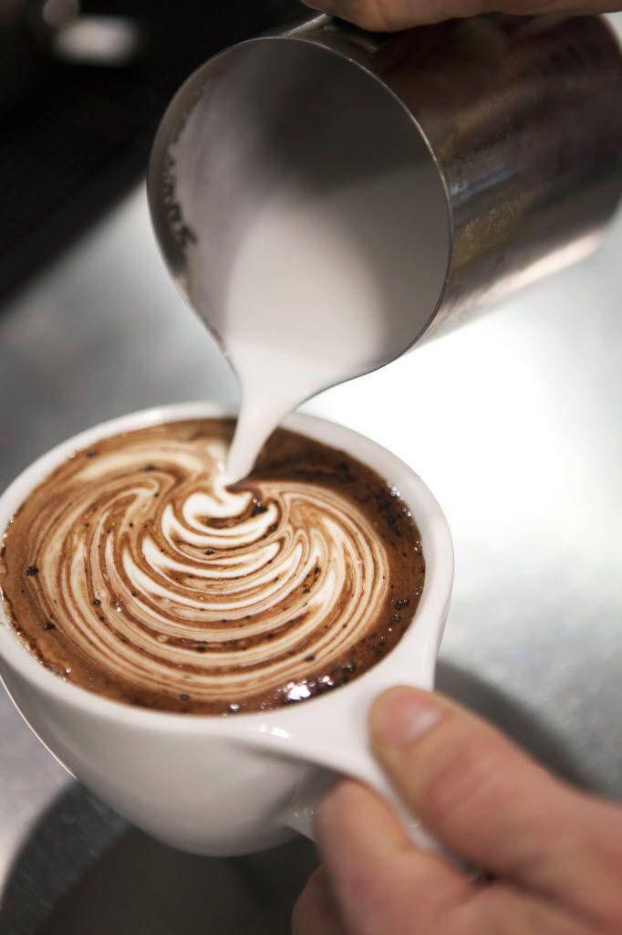 A mocha from Avoca. Hey, that rhymes.