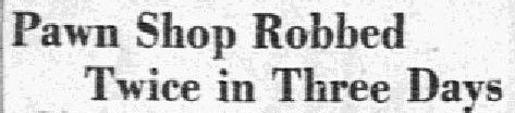 Headline from The Dallas Morning News, June 22, 1931.