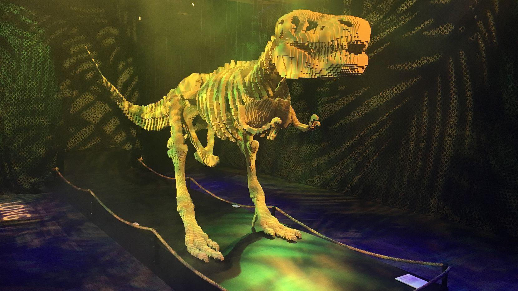 Perot Museum presenta el último fin de semana de su Dino Fest.