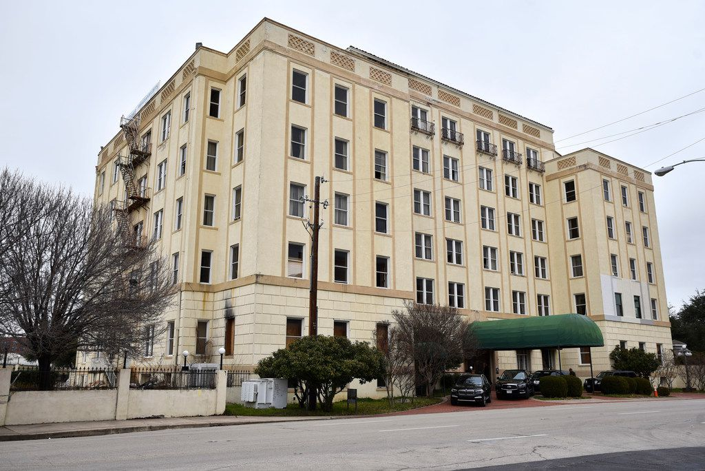 The historic Ambassador Hotel awaiting its makeover