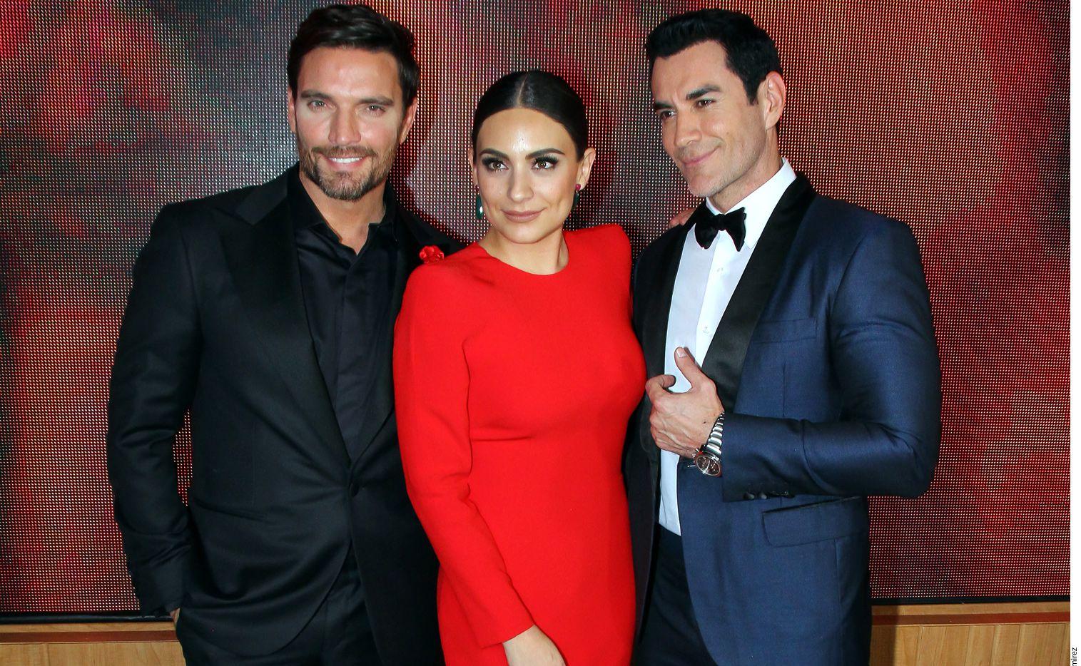 Julián Gil, Ana Brenda Contreras y David Zepeda forman parte de este nuevo proyecto del género Súper Drama de Televisa./ AGENCIA REFORMA