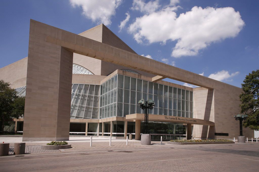 The Morton H. Meyerson Symphony Center will celebrate it's 25th anniversary, photographed August 29, 2014.  (Evans Caglage/The Dallas Morning News) 09032014xBRIEFING 09062014xNEWS 09072014xARTSLIFE 09132014xNEWS