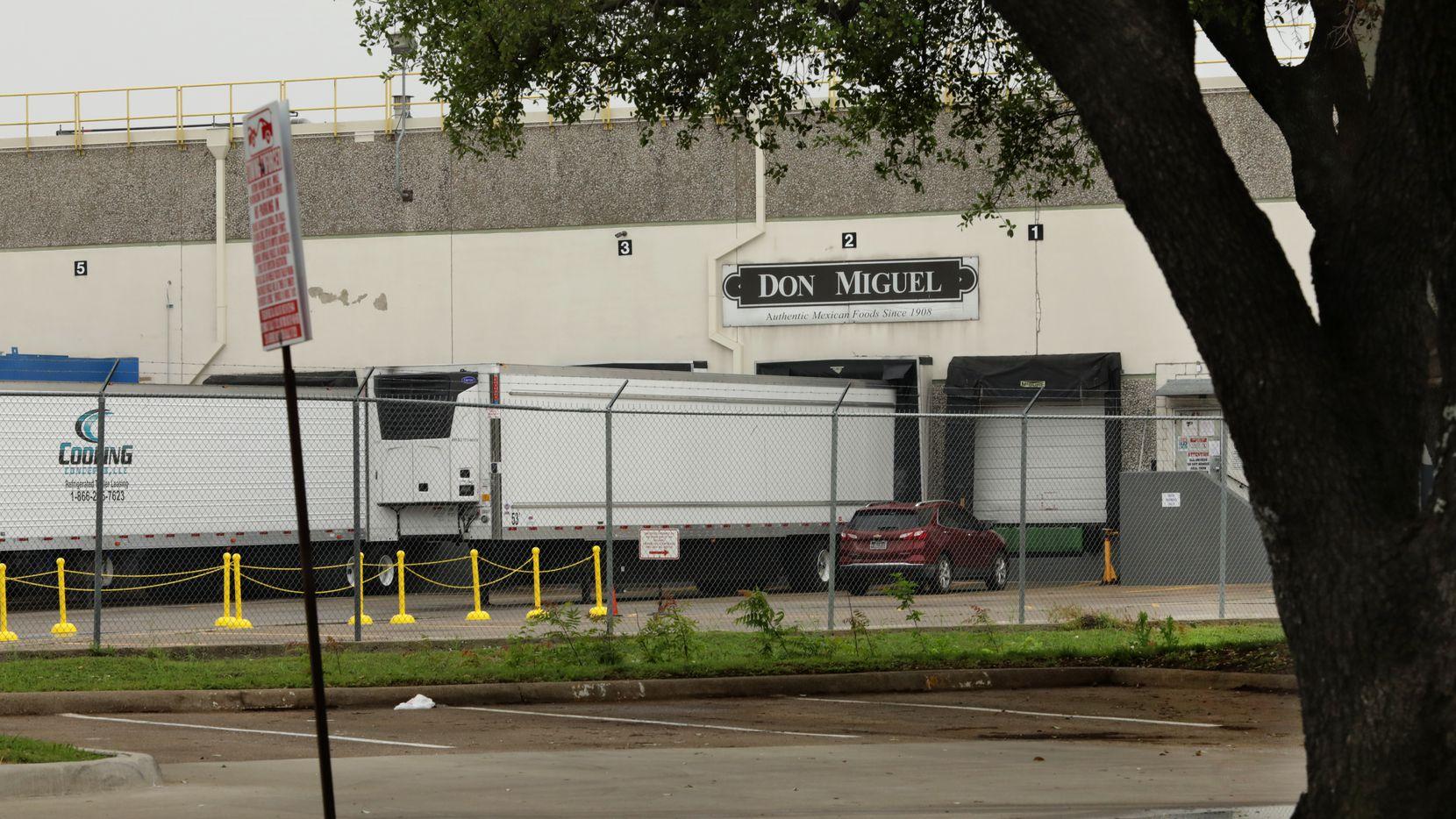 La planta de Don Miguel Foods ubicada en el noroeste de Dallas fue cerrada para limpieza profundo luego que se detectaron casos de covid-19. La empresa no confirmó cuántos contagios tuvo.