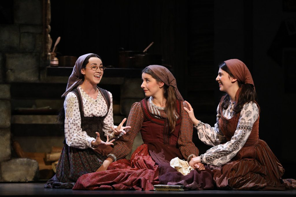 A scene from the touring production of Fiddler on the Roof, which will open at Dallas Summer Musicals on Aug. 7, 2019.