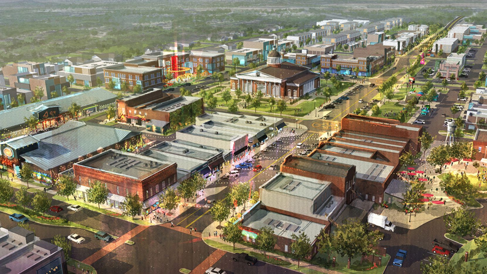 Midlothian has new development and preservation plans for its more than 80-acre downtown areas.