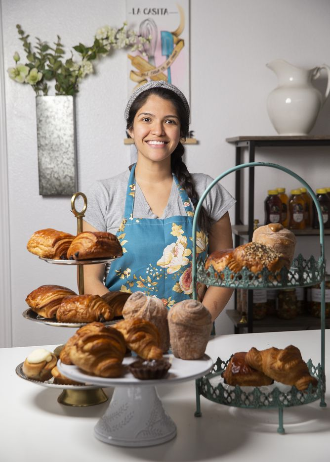 Co-owner Maricsa Trejo poses for a portrait at La Casita Bakeshop on Feb. 12, 2020 in Richardson.