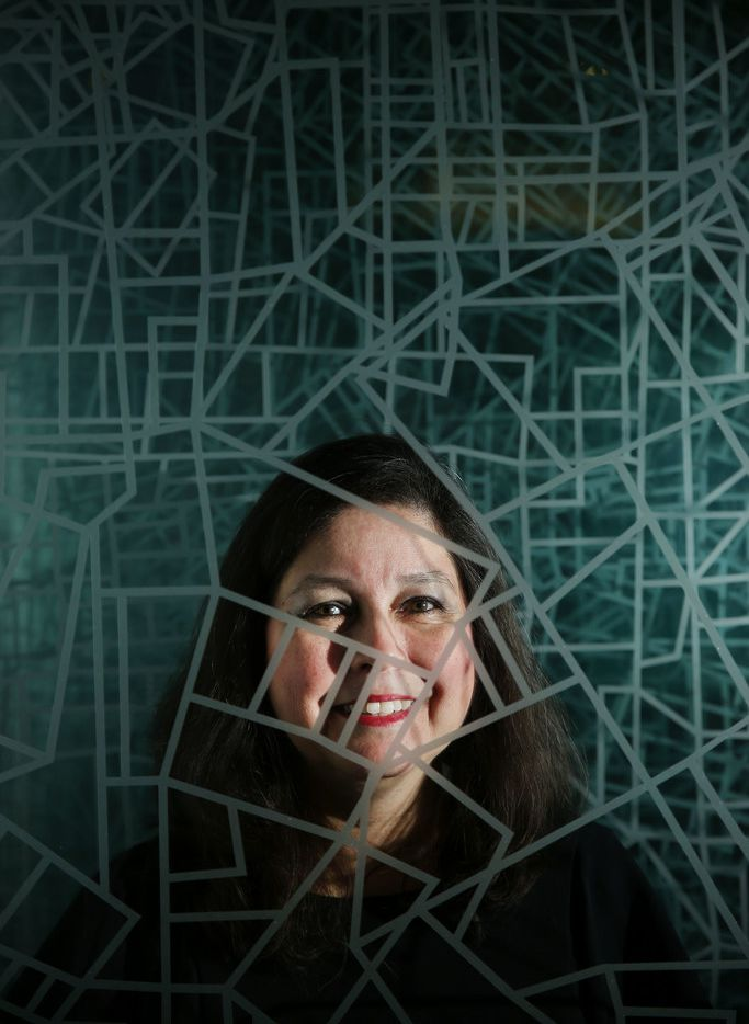 Romelia Flores is a Master Inventor and Distinguished Engineer with IBM. She is responsible for 38 patents and has 30 more patents pending. Flores was photographed in the IBM offices in Coppell, Texas on Wednesday June 20, 2018.