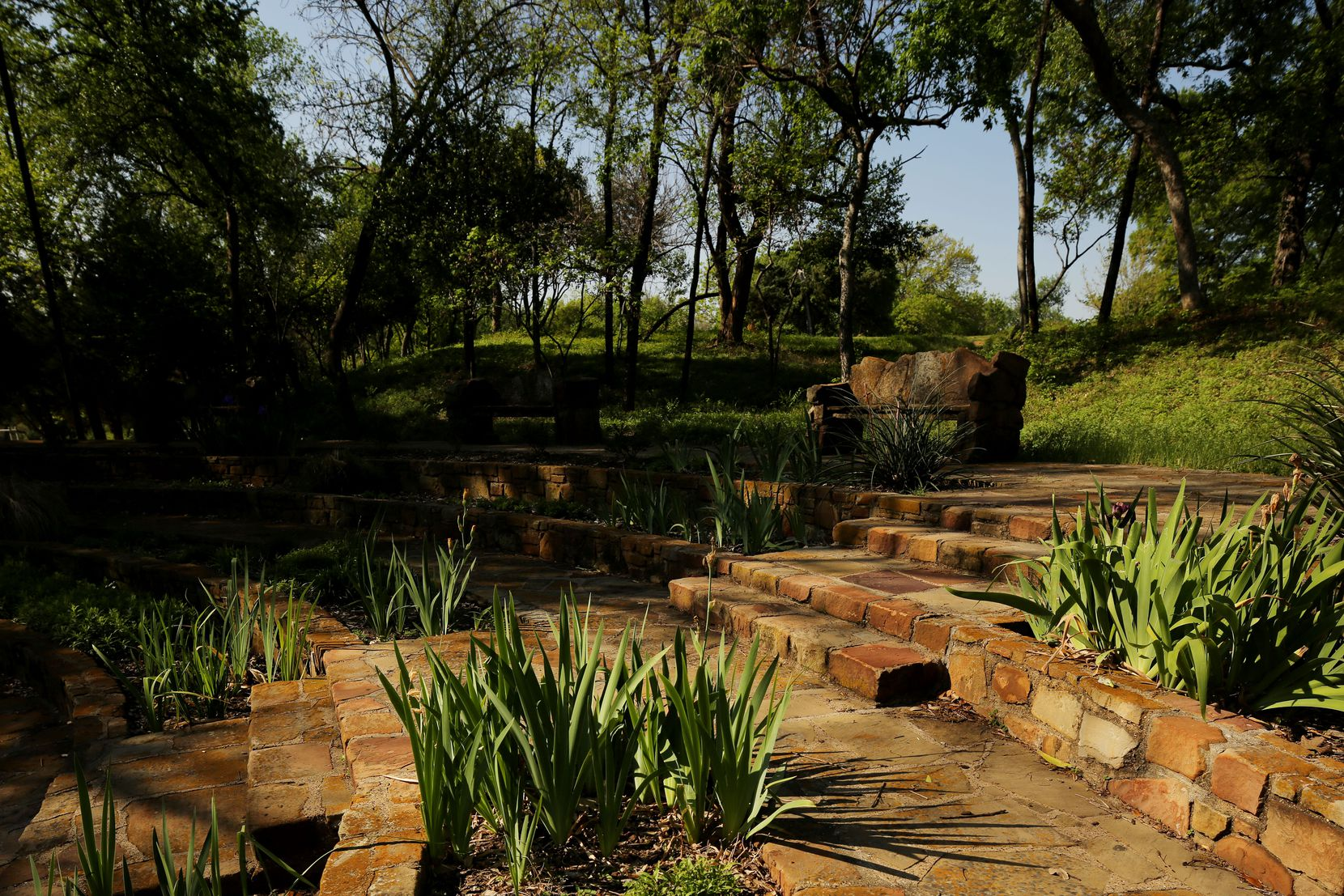 """After plans for the redevelopment of the ballpark stadium made headlines, Preservation Dallas listed Reverchon Park's historic stonework on its 2020 """"most endangered"""" list."""