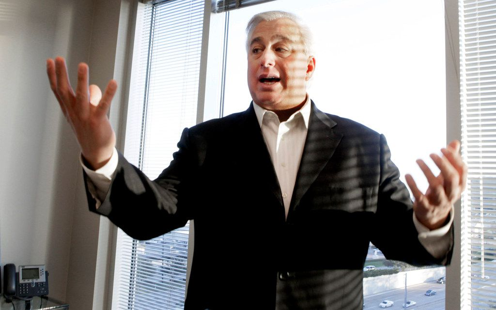 In this photo taken  Friday, Dec. 17, 2010, wealth manager Ed Butowsky poses at his office in Dallas, Texas. Butowsky is suing NPR for $57 million after NPR reported on his role in a retracted Fox News story about Seth Rich.