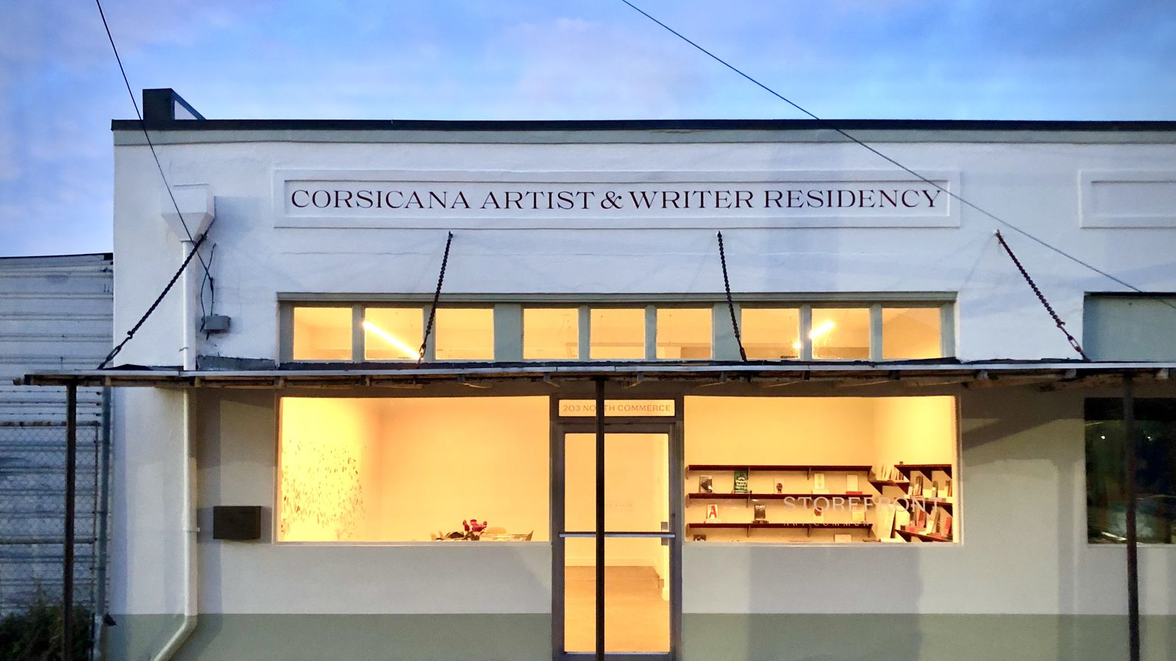 The Corsicana Artist & Writer Residency's bookstore is one of a few such independent bookstores that have appeared outside Dallas in past months.